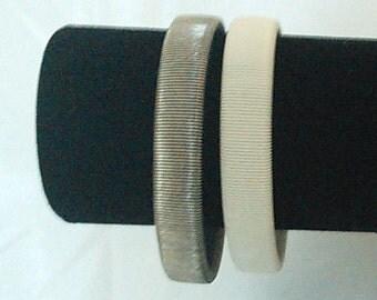 Vintage Twin Metal Bracelets