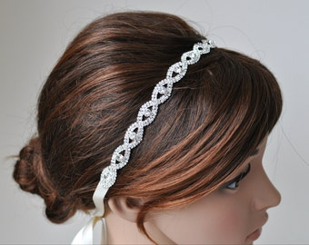 Rhinestone Headband  - T43