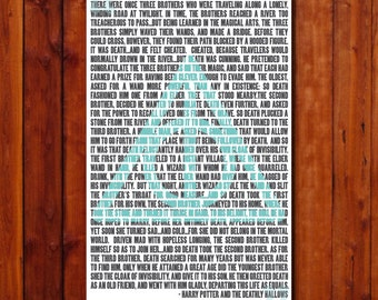 Harry Potter Three Brothers Deathly Hallows Instant Download
