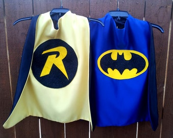 Batboy and Robin Cape Combo