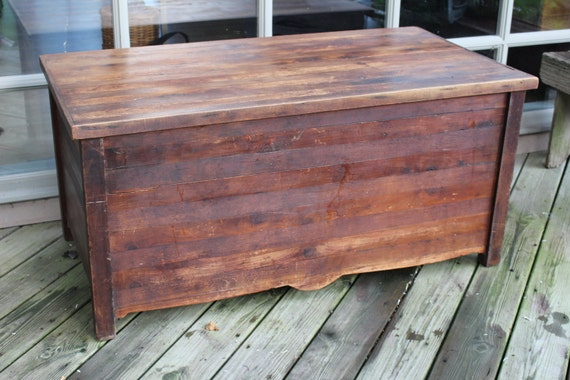 Vintage Cedar Blanket Chest Coffee Table By Beakerloo On Etsy