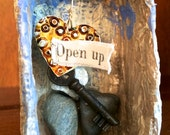 Open Up Assemblage Box