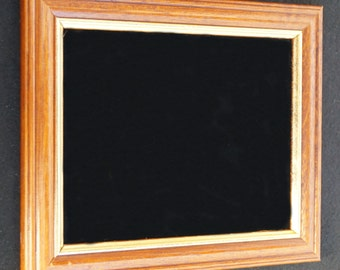 Small wooden scrying mirror