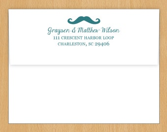 Printed Envelopes - Front OR Back Flap