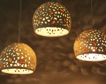 Ceramic Pendant Light Chandelier Lighting Cluster Lights