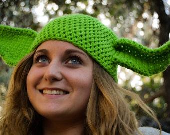 Adult Star Wars Yoda Beanie: Yoda Ears