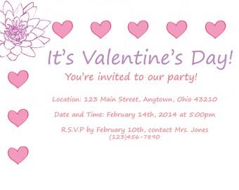 Valentine's Day Invitation 002