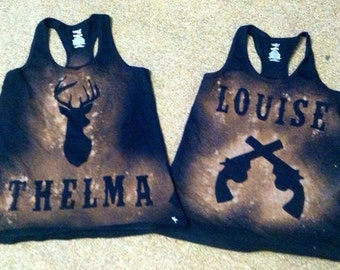 Thelma and Louise Tank set