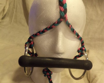 Braided Cord Bridle with Bit