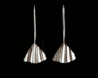 S A L E  Long Silver Earrings, Sterling Silver Earrings, Silver Dangle Earrings, Dangle Earrings, Very Long Silver Earrings