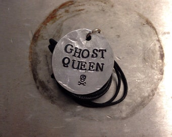 """Percy Jackson Inspired """"Ghost Queen"""" Necklace"""