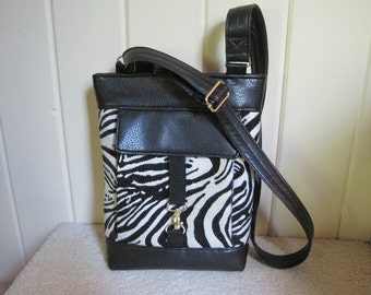 Zebra stripe iPad Bag