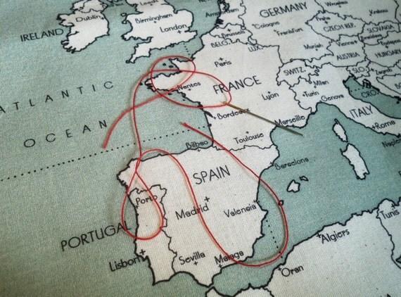 EUROPE - sac à broder