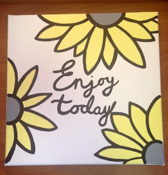 Custom canvas quote for Simple easy paintings