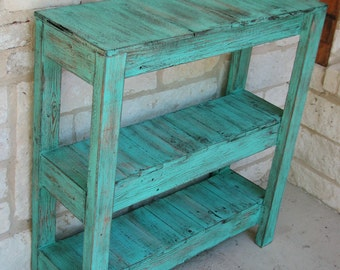 Rustic Console Table for Entry Way and More!