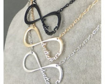 "One Direction ""Directioner"" Infinity Necklace"