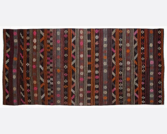 53 x 115 ft 158 x 344 cm vintage striped by kilimciyan. Black Bedroom Furniture Sets. Home Design Ideas