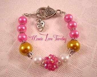 Sleeping Beauty Bracelet, Aurora Bracelet, Disney Princess Jewelry, Sleeping Beauty Jewelry, Aurora Jewelry, Disney Princess Bracelets