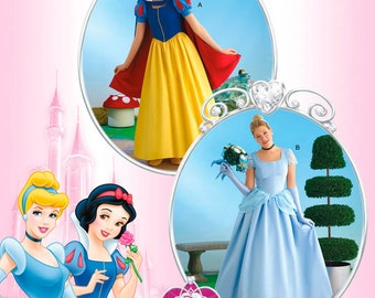 Simplicity Sewing Pattern 2813 Disney Princess Costumes for Misses