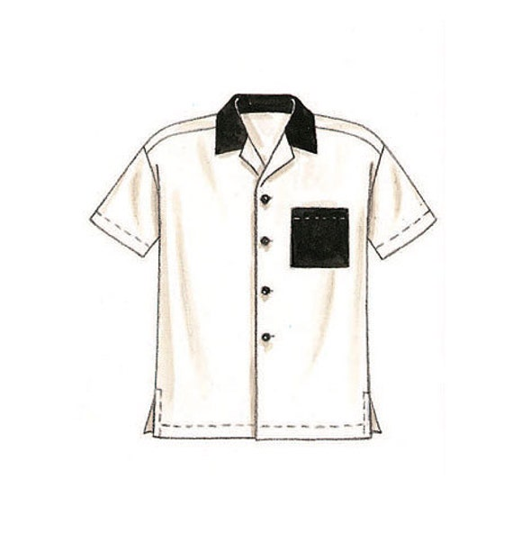 Mccall 39 S Sewing Pattern 2149 Men 39 S Button Down Shirts From