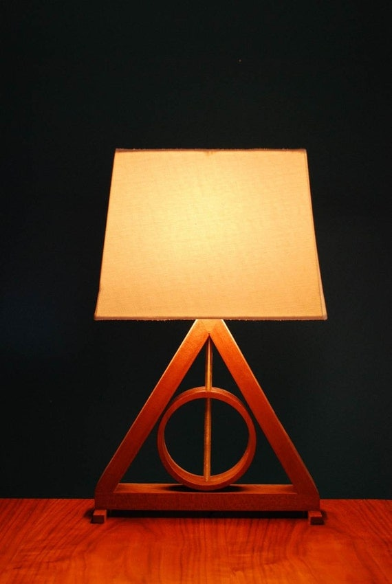 Deathly Hallows Table Lamp