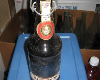 Atlenmunster Amber Beer Bottle 12 ounces from the 80's