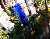 Hummingbird Feeder Colbalt Blue
