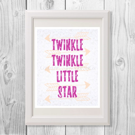 Twinkle little star printable by minnesotaprintco