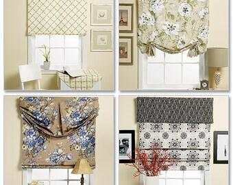 Butterick Pattern B5730 Window Shade and Valance