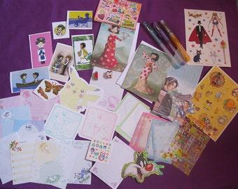 Super Cute Anime/Manga Paper Ephemera (set B)