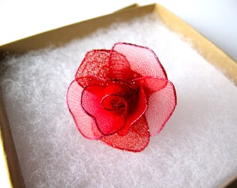 Red Rose Ring -a