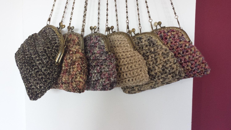 Crochet evening purse. by Vivartbox on Etsy