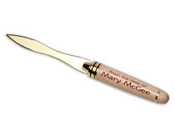 Custom Letter Opener with YOUR NAME or information laser engraved!