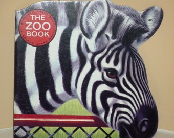 Vintage Golden Shape Book The Zoo Book by Jan Pfloog