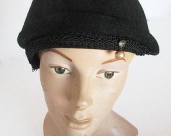1940s Wool Doeskin Label