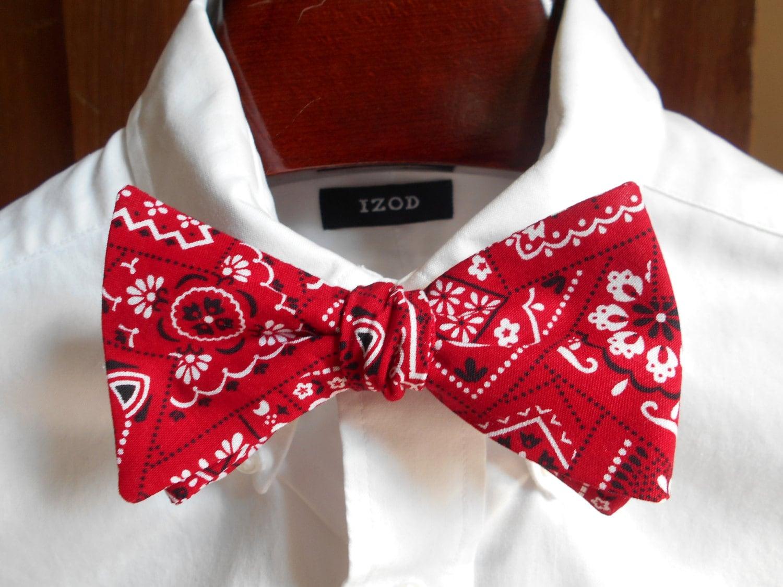 bow tie bandana s self tie
