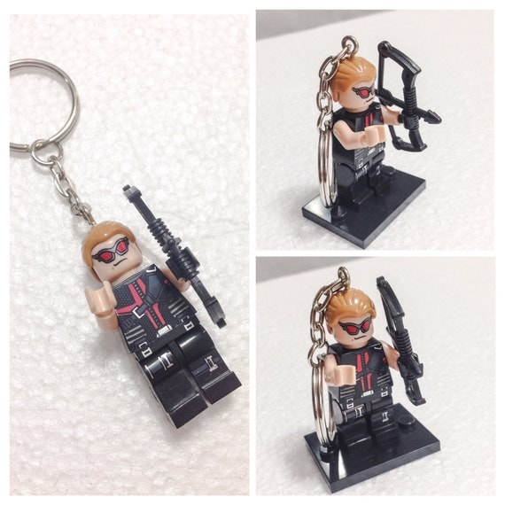 Martial Archery Become The Hero Of Your Own Story: Lego® HAWKEYE Keychain The Avengers Superhero Keychain