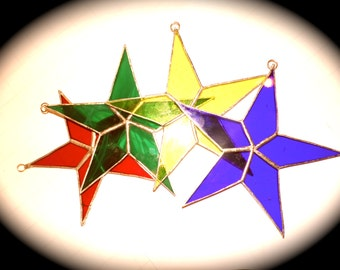 Sets of Stars #2 - stained glass