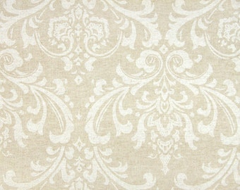 """TRADITIONS Premier Prints Fabric-54"""" wide-Traditions-Cloud LINEN 1 yard or more Screen printed Linen Fabric By The Yard"""