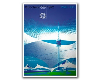 Olympics Poster Sports Art Wall Decor (H57)