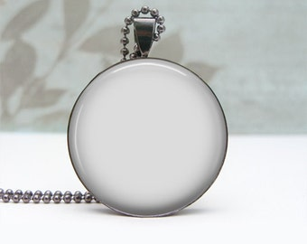 Digital Photo Template for Gun Metal 1 inch Round pendant setting with ball chain. No graphics tool needed. Ask me How.  404