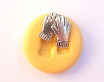 Gloves Mold Mould Resin Clay Fondant Wax Soap Fimo Flexible Silicone Mold