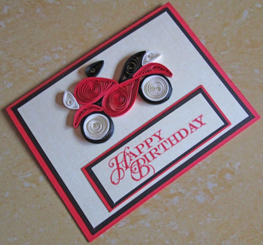 Как сделать открытку на день рождения мужу своими руками 14