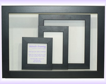 4x4 20x30 black custom picture frames custom sizes for art photography certificates wedding cosmatology wedding