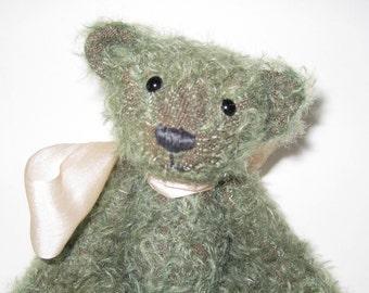 Sage Green Mohair Bear