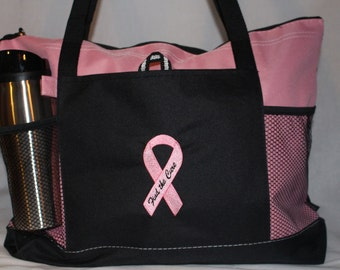 Find the Cure - Breast Cancer Awareness Versatile Tote!