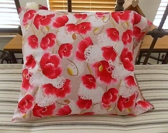 Pillow - Pink Poppy