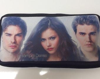 Vampire Diaries Inspired Pencil Case