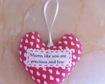 Mum heart decoration, mothers day gift