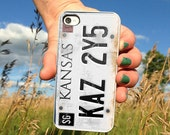 License plate Supernatural design for iPhone 4/4s, iPhone 5/5s/5c or Samsung Galaxy S3/S4 Case